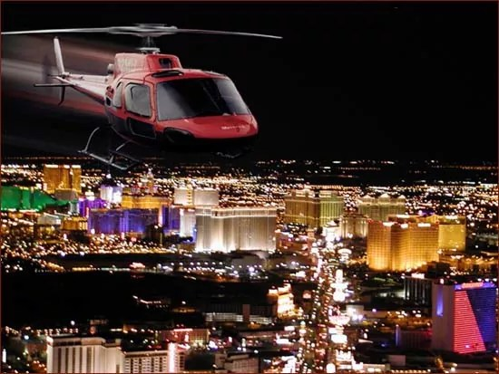 helicopter on the city 2