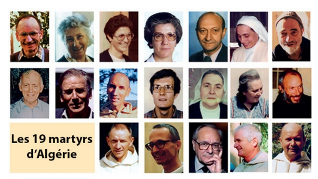 Béatification à Oran de 19 martyrs d'Algérie.