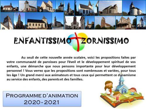 projet enfantissimo 2020-21
