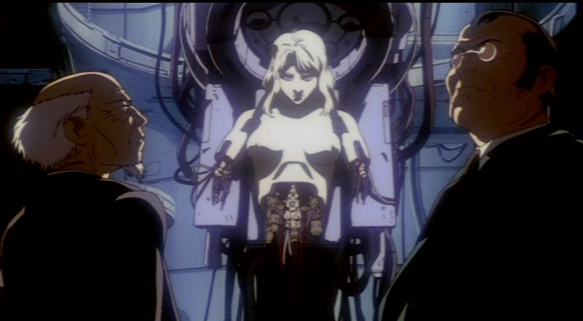 Scifi Genderfluid Ghost in The Shell