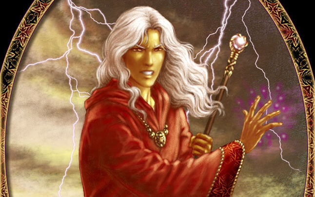 Dragonlance Raistlin mago