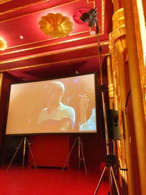 Interno del Cinema Fulgor