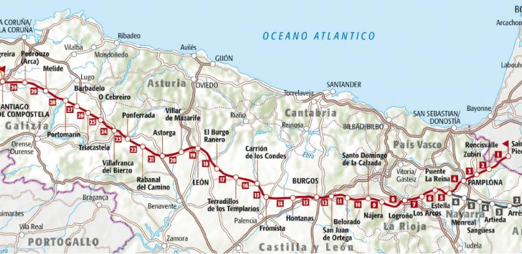 Le tappe del Cammino di Santiago: il cammino si fa camminando