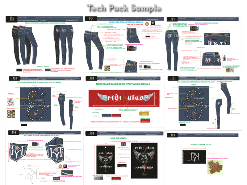 apparel technical package