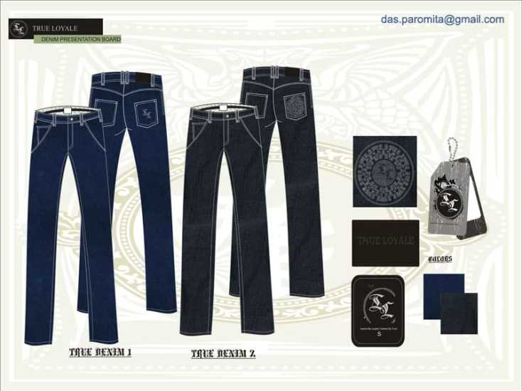 Denim Jeans Tech Packs - Clothing Design and Garment Manufacturing