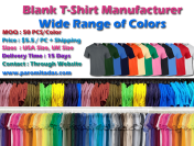 T-Shirt Manufacturer- Specialized Manufacturer in Knitwear