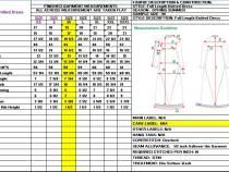 Garment Measurement Specification – Garment Fit Basics
