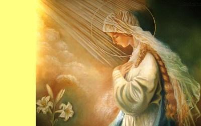 25 de Março dia da Anunciação do Senhor!