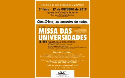 Missa das Universidades – 17 Outubro
