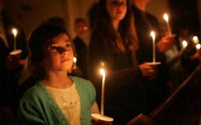 Procissão de velas em Alvide – 31 Outubro