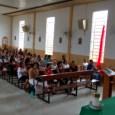 Acontece agora a reunião mensal dos menus liturgia, caridade e anúncio. O tema da formação inicial do encontro foi sobre a CF 2017, que tem como tema este ano: Fraternidade: […]
