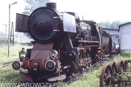 Ty2-1031 w Lokomotywowni Chabówka. 12.VII.1987. Fot. Roelof Hamoen.