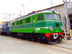 EU07-001 bezpośrednio po odrestaurowaniu w Czechowicach-Dziedzicach. Fotografia dzięki uprzejmości Autora (c) Jonatan Biela.