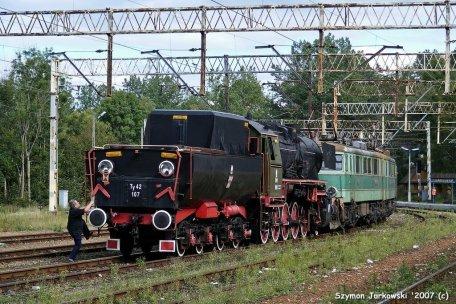 Ty42-107 świeżo po przyjeździe do Chabówki. Fot.: Szymon Jurkowski.