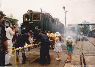 Otwarcie Skansenu w Chabówce. 11.VI.1993roku. Fot.: Ryszard Smulkowski.