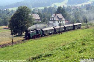 TKt48-191 + 4 wagony dwuosiowe. 30/31.07.2005. Fot.: Miłosz Mazurek.