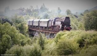 OKz32-2 z ogólnodostępnym pociągiem retro. 12.07.2015. Fot.: Miłosz Mazurek.