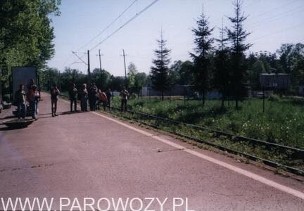 Z Dobrej do Chabówki pociąg nr 33640