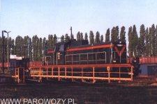 SP42-260 na obrotnicy w Lesznie (03.05.2000). Fot.: Dawid Frątczak.