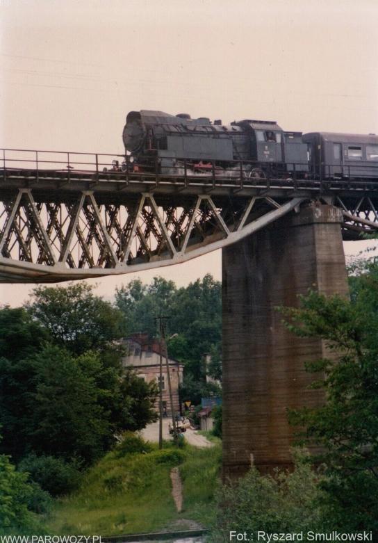 OKz32-2,Grybów. 27.06.1992. Fot.: Ryszard Smulkowski.
