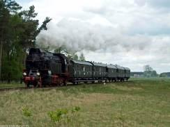OKz32-2 z pociągiem nr 77014 Wroniawy-Solecko 2.05.2015. Fot.: Łukasz Alczewski.