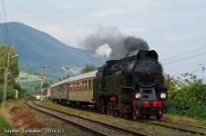 OKz32-2 z pociągiem Chabówka-Kasina Wielka. 21.08.2016. Fot.: Szymon Jurkowski.