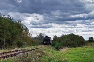 Przejazd Parowozem z Tarnowa do Żabna. 29.09.2019. Fot.: Marcin Alencynowicz.