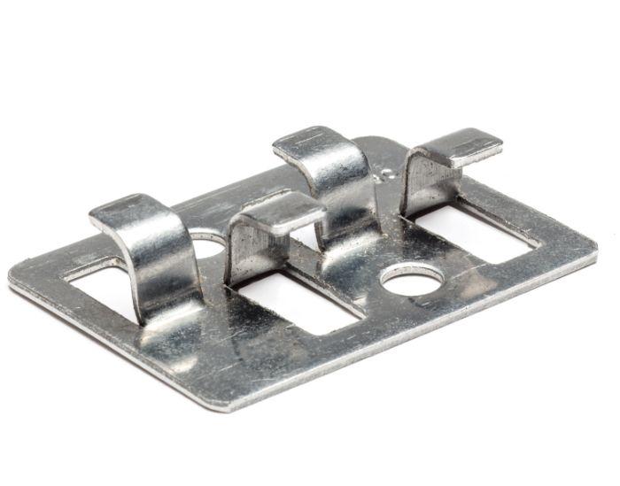 Grapa Urban Deck de acero inoxidable para tarima exterior sintética