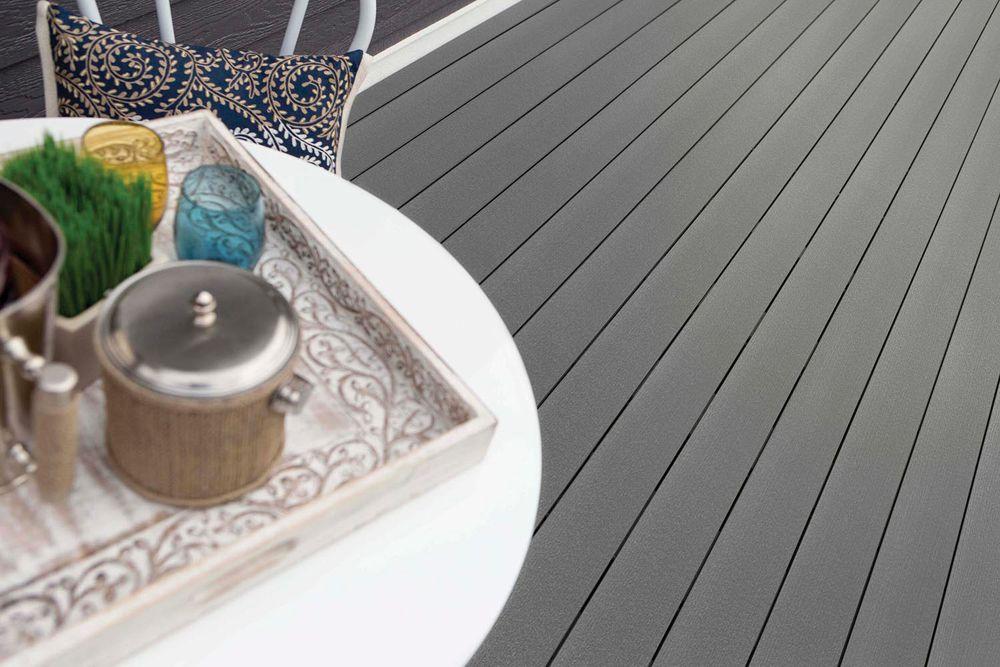 Tarima exterior Timbertech Edge Maritim Grey