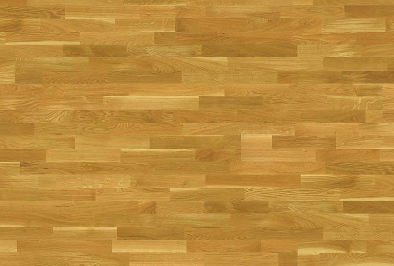 Tarima de madera natural multicapa Karelia Roble Polar Natural 3 lamas KR6050