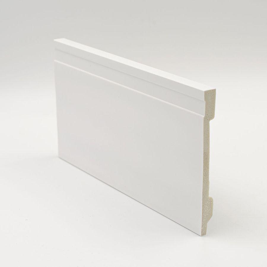 Zócalo Rodapié de PVC hidrófugo blanco 15cm