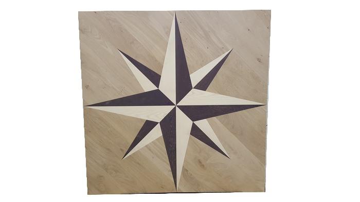 Panneau bois massif motif