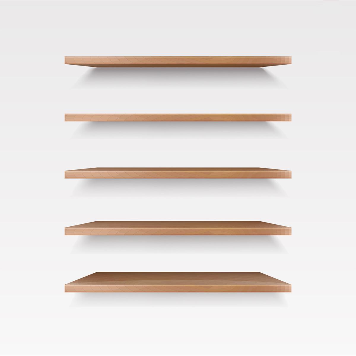 tablette en bois massif sur mesure