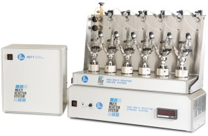 5000 Series Multiple Reactor System; six 75 mL Vessels w/Flat Gaskets & Head-Mounted Valves, w/4871 Controller