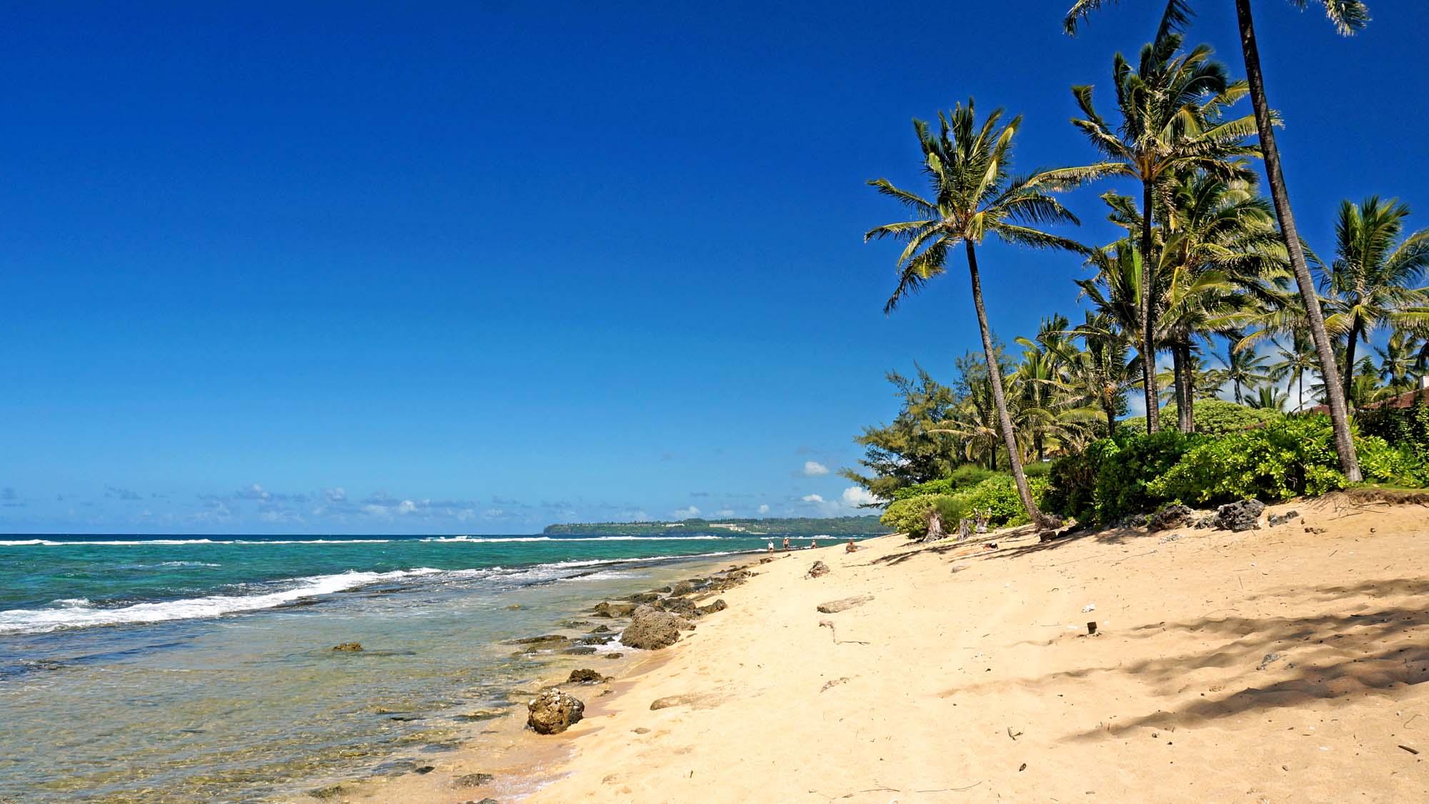 Naue Is A Hidden Find Among Kauai Beaches