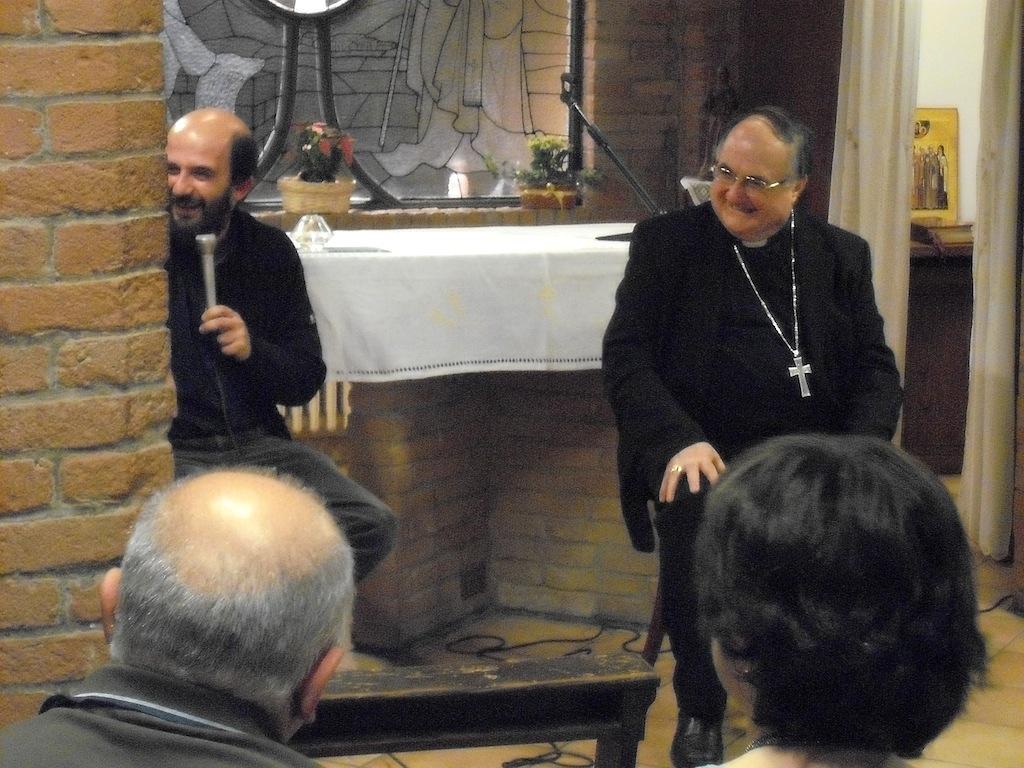 Famiglie del Gelso e Vescovo Lanfranchi alla Casa della Carità di Cognento - 02