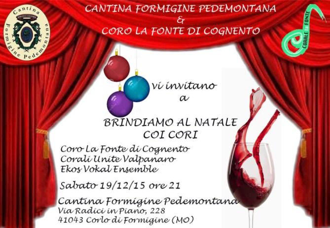Concerto Pedemontana Coro La Fonte 2015