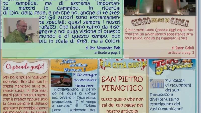 """""""SEGUI LA NOTIZIA con DON BOSCO"""": il primo numero del giornalino dei ragazzi di ACR e CATECHISMO della nostra Parrocchia."""