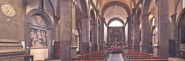 Interno chiesa di San Lorenzo Martire