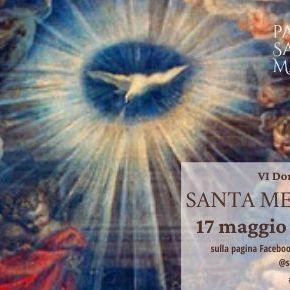 Santa Messa in diretta dalle ore 11 (con chiesa chiusa)