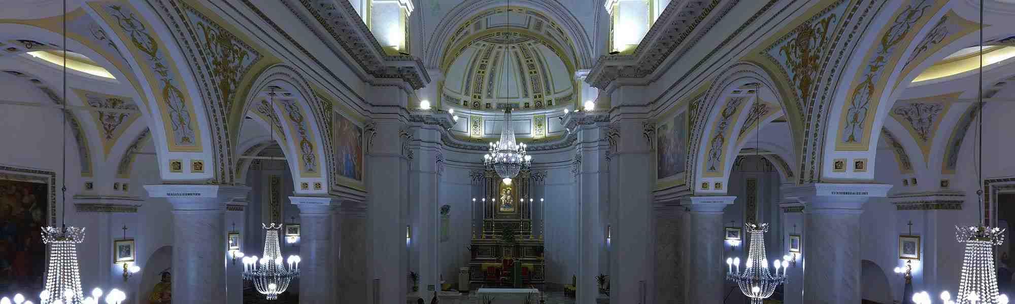 Interno Chiesa Madre Di Mirabella Imbaccari