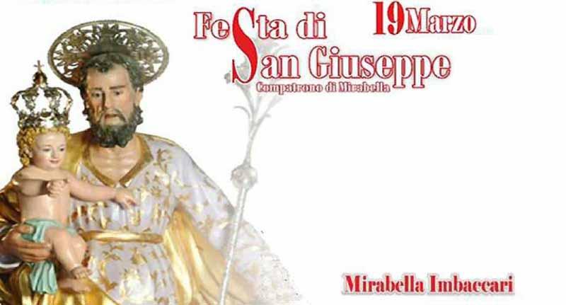 Festa Di San Giuseppe 2021