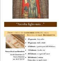 Catechesi su San Benedetto (ascolto registrazioni audio)