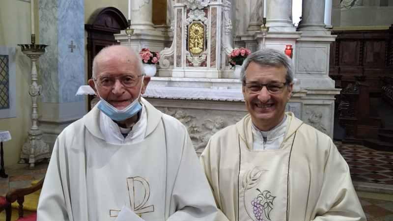 don Vittorino ha raggiunto la Casa del Padre