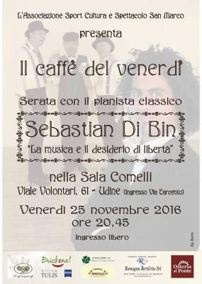 Il caffè del venerdì con Sebastian Di Bin