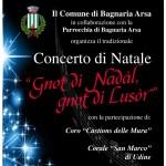 La Corale San Marco in concerto a Bagnaria Arsa, Udine e Pagnacco