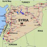 mappa della Siria