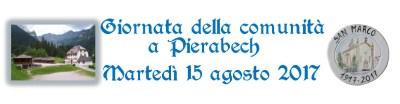 giornata della comunità a Pierabech