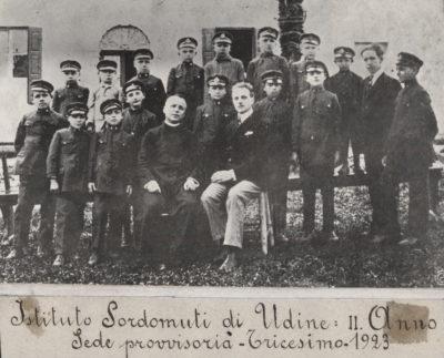 1923-ist- sordomuti-don -Davide-Floreani