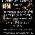 Il caffè del venerdì: serata con il Maestro Francesco Gioia